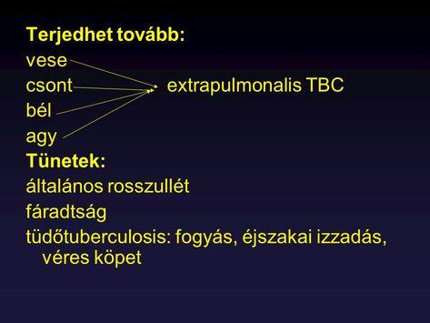 Tbc - A betegség tünetei és terjedése