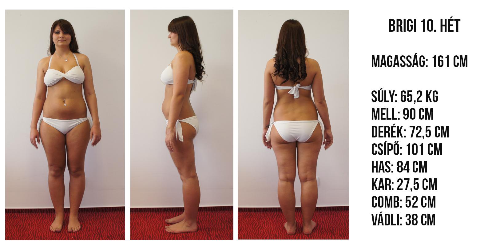 hogyan lehet lefogyni a csípő súlya