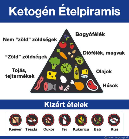 ketogén diéta minta