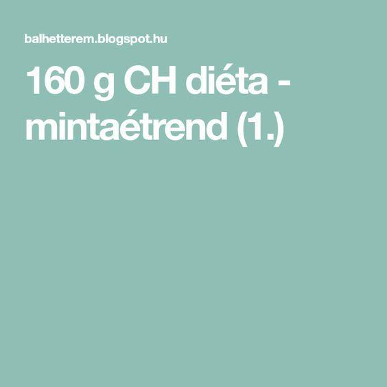 160 grammos diéta a gyakorlatban