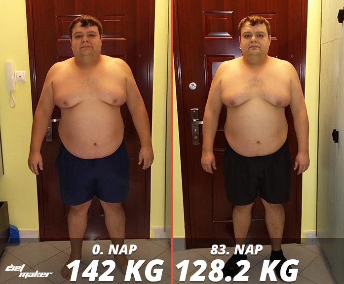 35 kiló fogyás