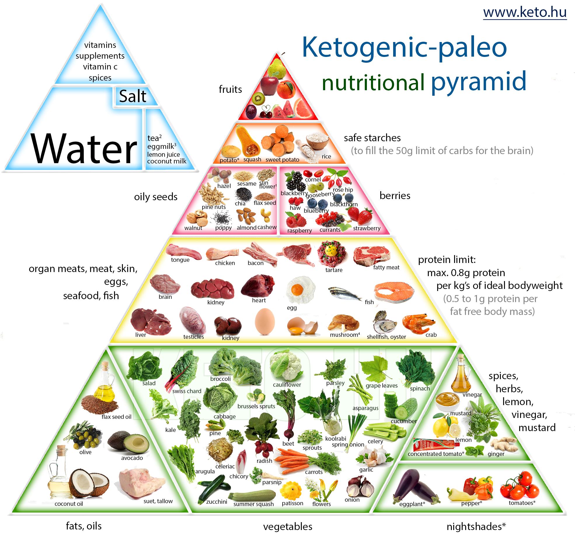 kalóriás paleo mintaétrend – ketogén diétához | Peak girl