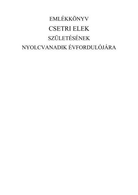 Az onkoterápia irányelvei (Kásler Miklós).pdf