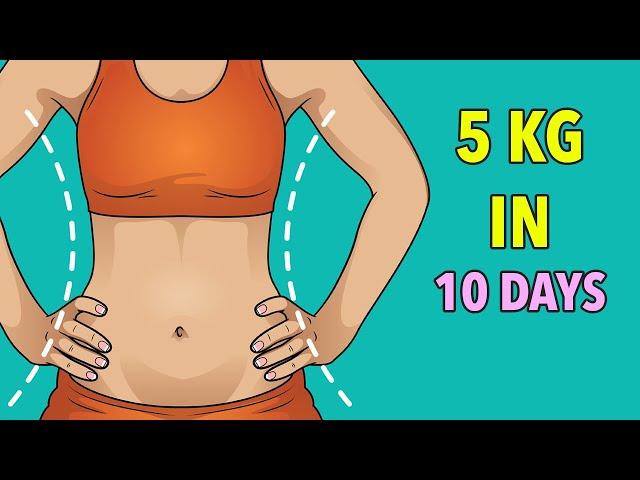 10 nap alatt 5 kg