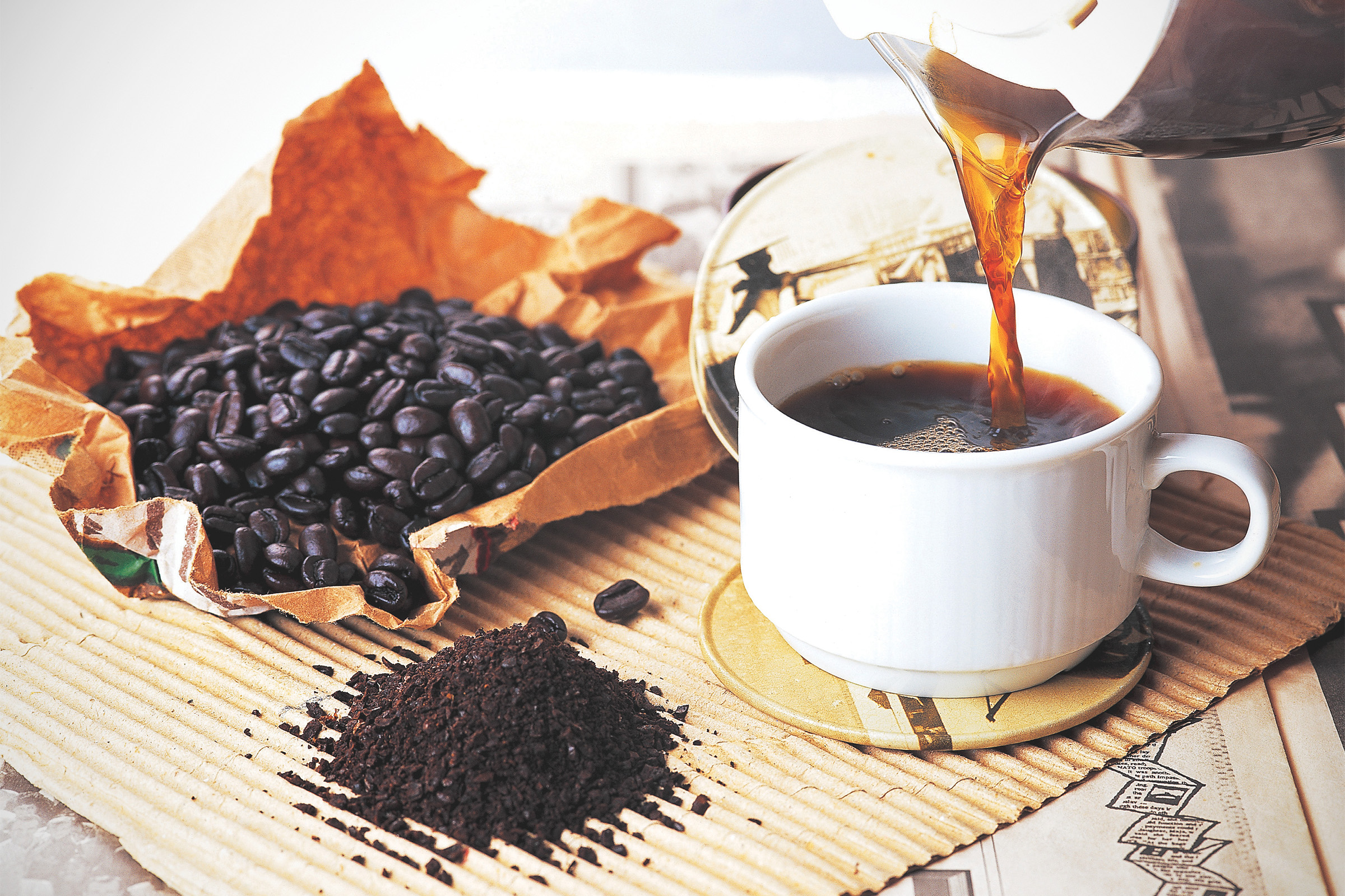 a fekete kávé fogyás előnyei