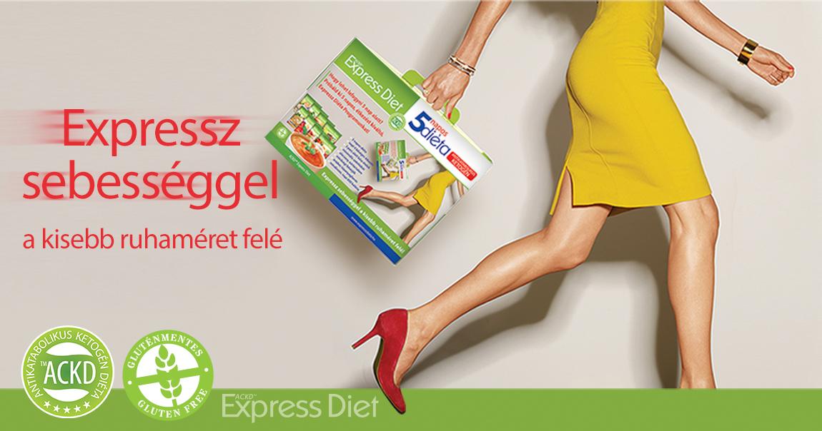 Natur Tanya® EXPRESSZ Diéta Program 5 napos – antikatabolikus ketogén diéta csomag