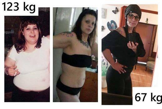 40 kg fogyás után
