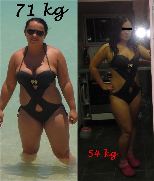8 kg súlycsökkenés egy hónap alatt