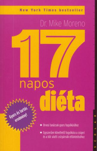 Dr. Mike Moreno: 17 napos diéta (pdf, mobi) - Könyvek