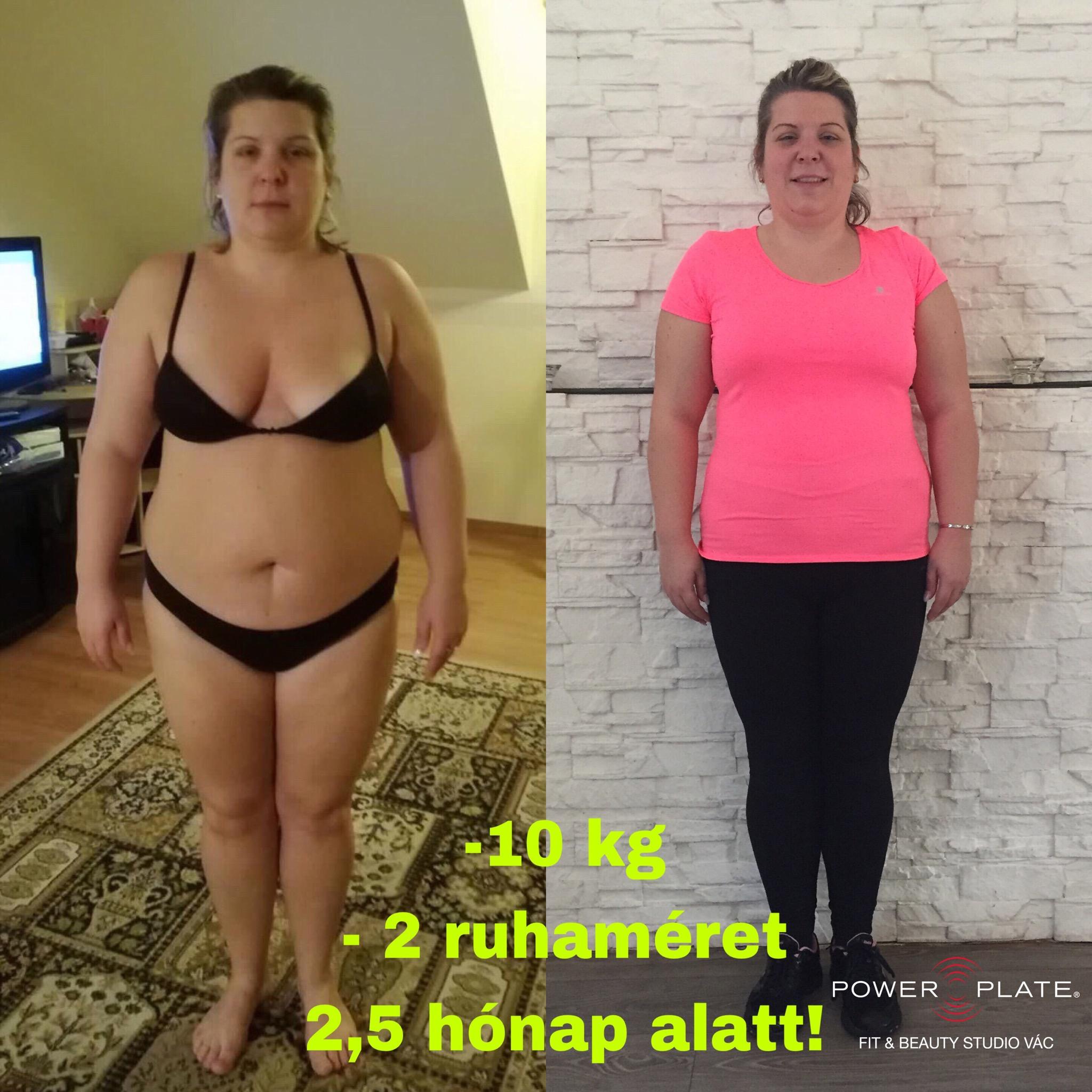 fogyás 10 hónap alatt 10