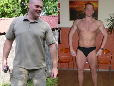 fogyás 43 éves férfi esetében