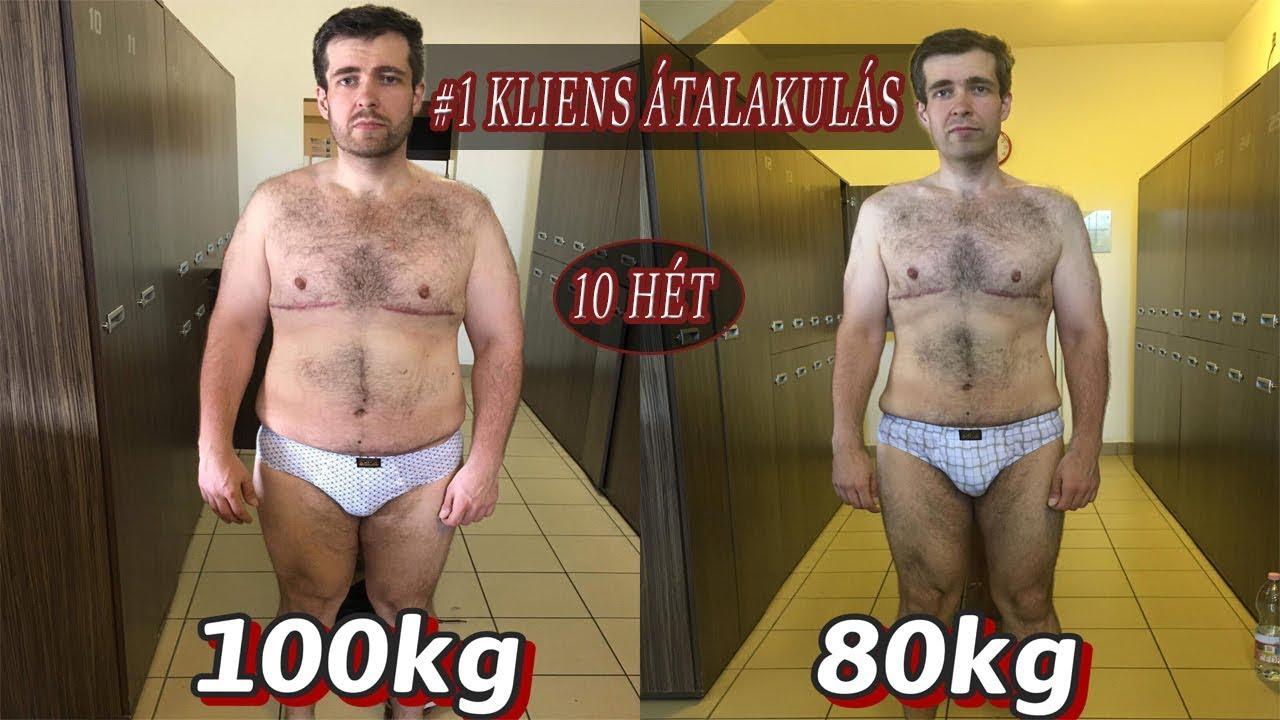 fogyás hetente kg