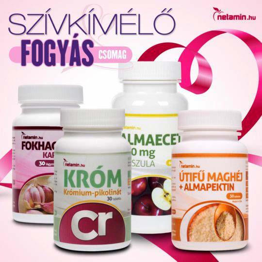 Fogyást, fogyókúrát segítő étrendkiegészítők, zsírégetők, fogyókúrás porok