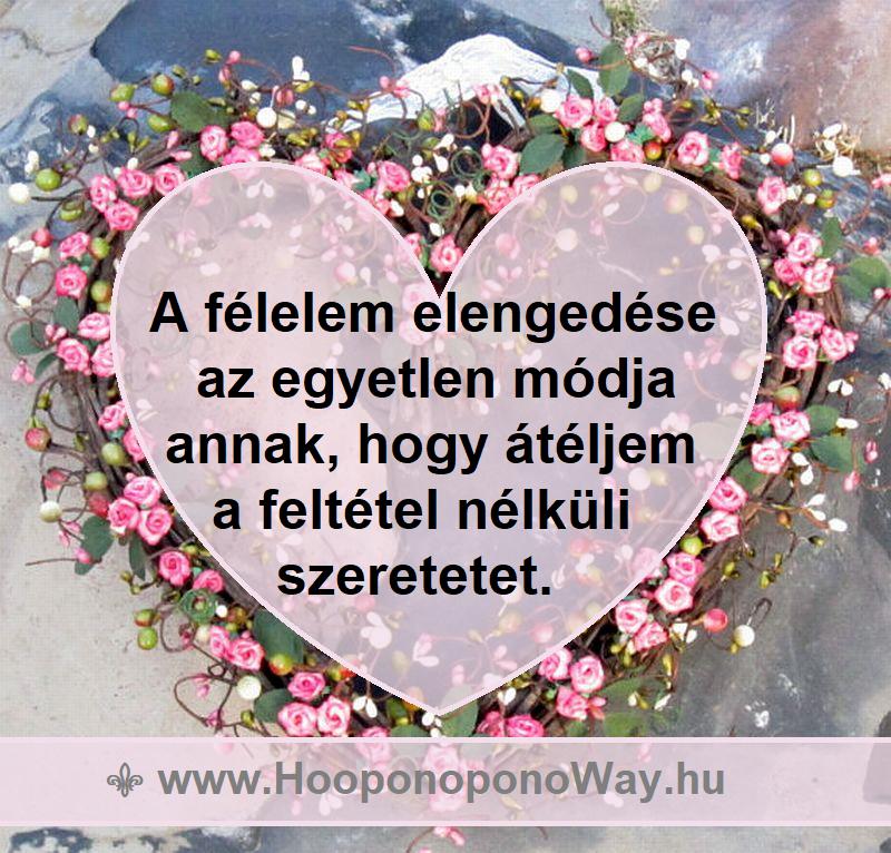 SZI Akadémia - SZI Kommunikáció - Hooponopono szeretet gyakorlat tünetre