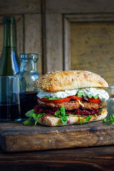 Pöri-burger bögrésen | Street food, Reggelireceptek, Burgerek