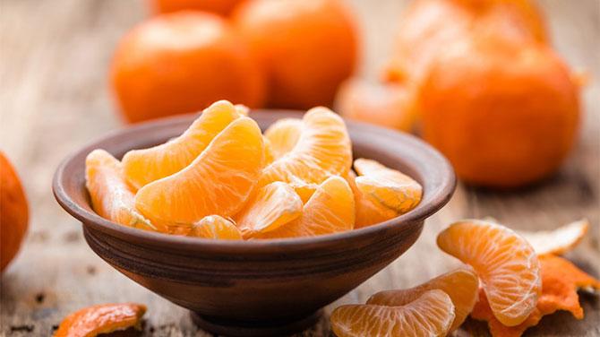 mandarin fogyás