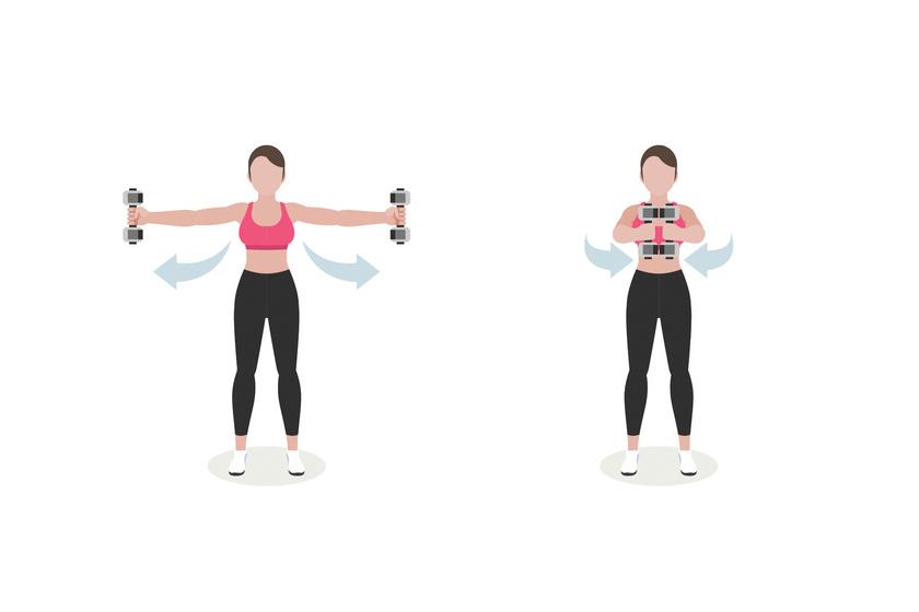 súlyzós edzés nőknek fogyáshoz