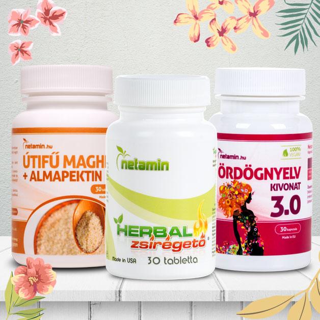 Netamin Herbal Zsírégető – hozzájárulhat a fogyókúra eredményességéhez