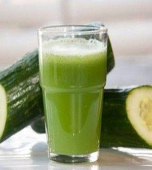 zsírégető uborka ital