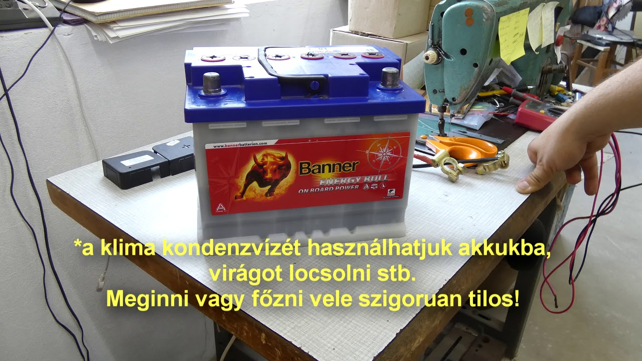 akkumulátor lefogy mi segiti a fogyast