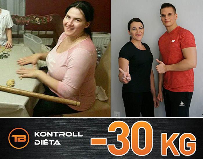 fogyás 30 kg