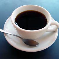 kávét inni, hogy lefogy