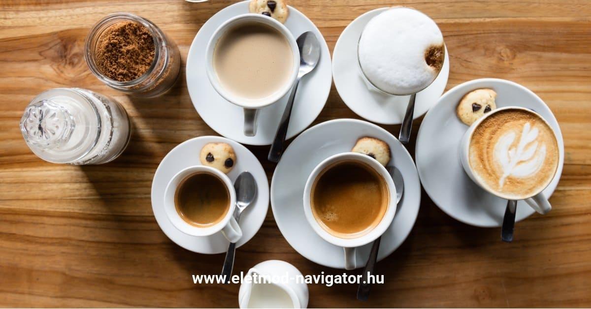 a fekete kávé fogyás