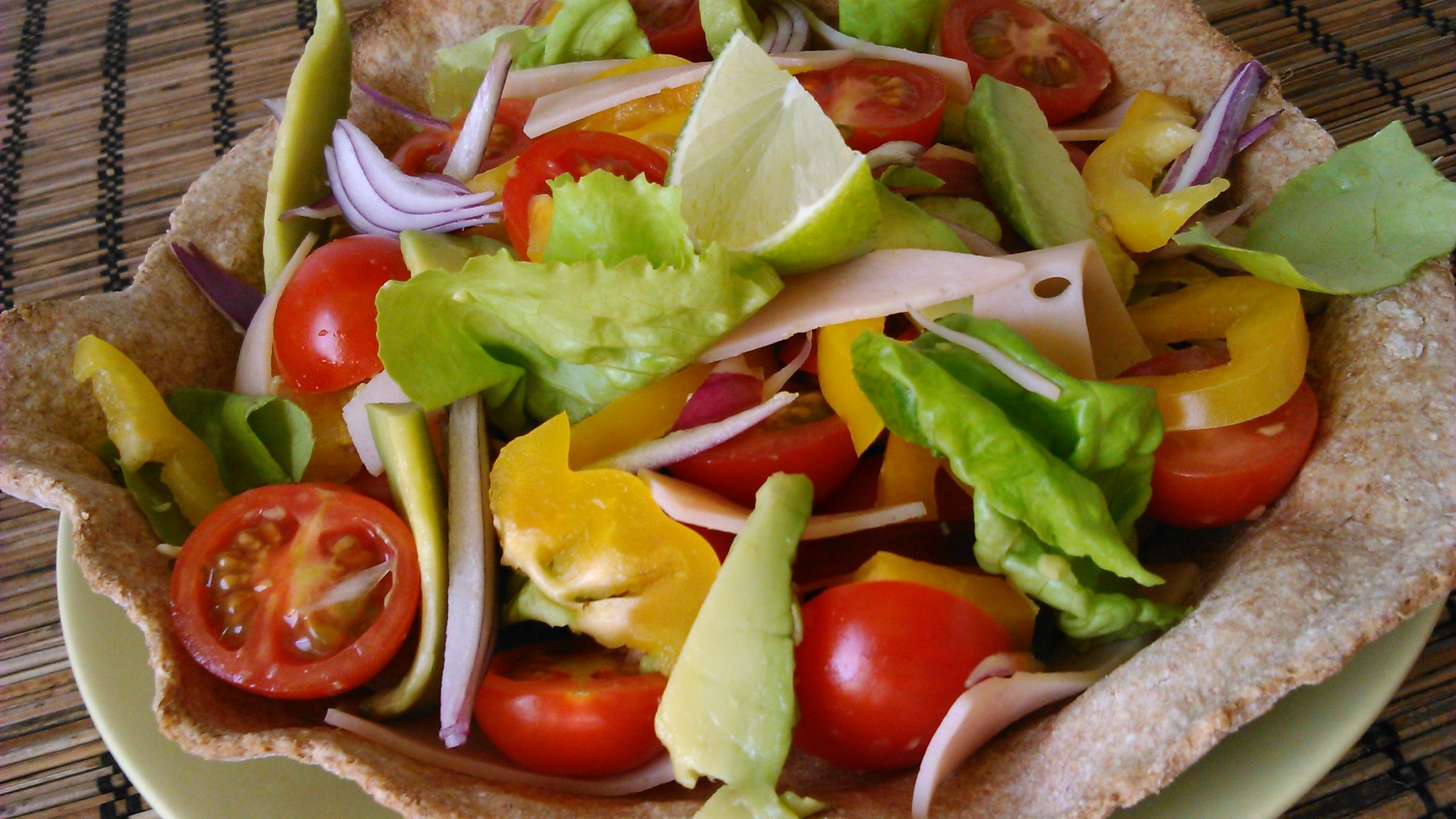 fogyókúrás saláta receptek