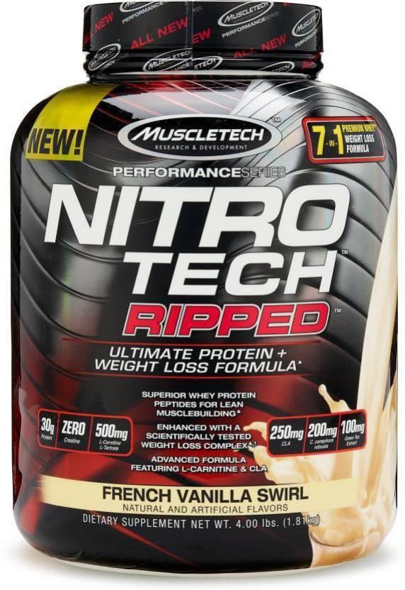 Muscletech NITRO-TECH Ripped g - AKCIÓ 48% | Fitness és Bodybuilding Webáruház